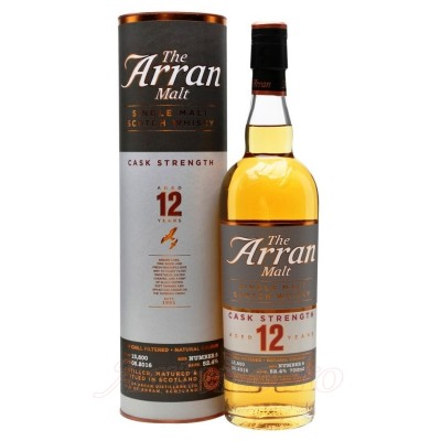 Arran 12 YO Cask Strength