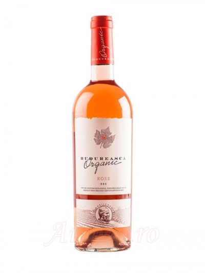 Vin Budureasca Organic Rose