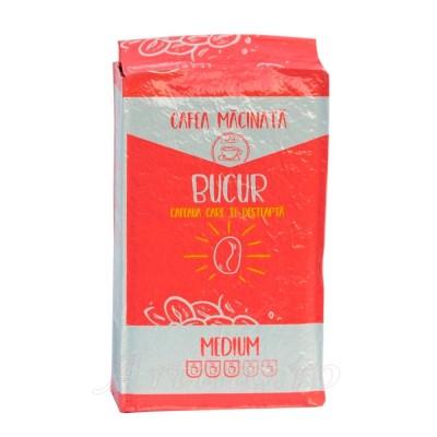 Cafea macinata Bucur Medium – 250g