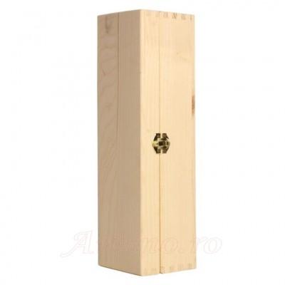Cutie lemn sticla vin - Sipet Petto