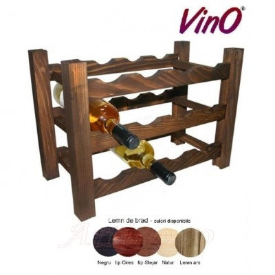 Raft lemn 12 sticle - Vino