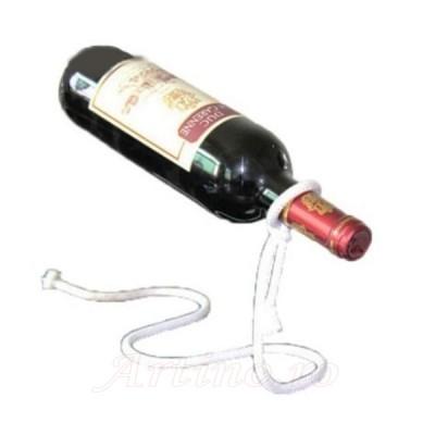 Suport funie alba lasou sticla vin