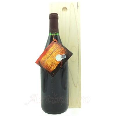 Vin 2003 Cabernet Sauvignon Murfatlar, 1 Litru + cutie lemn