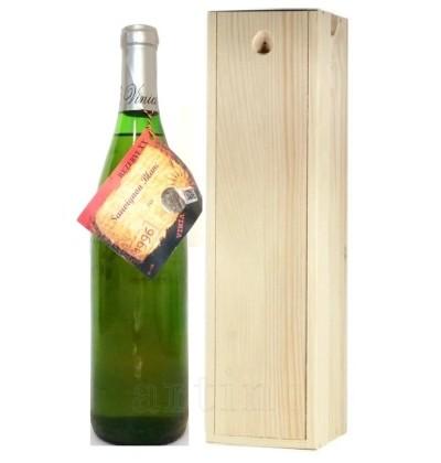 Vin 1996 Sauvignon Blanc + cutie lemn