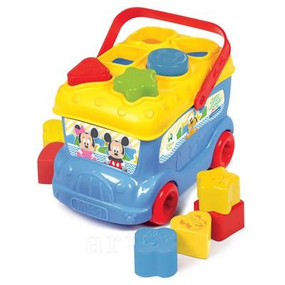 Autobuz de sortat forme Mickey, Clementoni