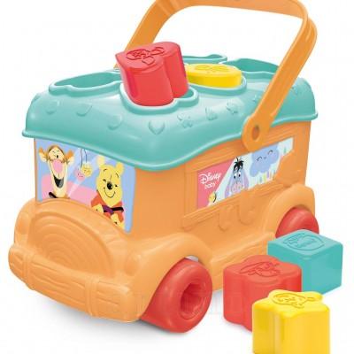 Autobuz de sortat forme Winnie, Clementoni