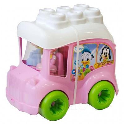 Clemmy Autobuz Minnie cu cuburi, Clementoni