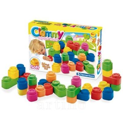 Set cuburi Clemmy 24 piese, Clementoni