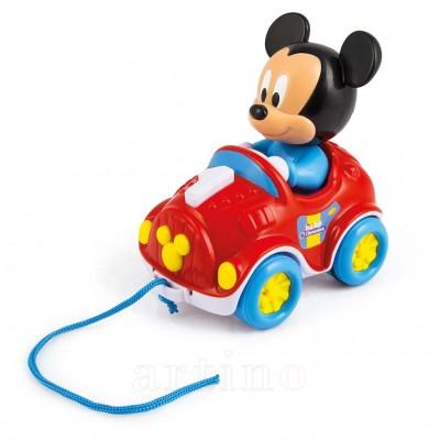 Jucarie de Tras Masinuta Mickey