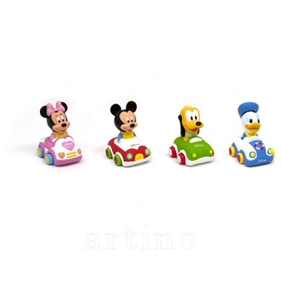 Masinute Disney: Minnie, Mickey, Donald, Pluto