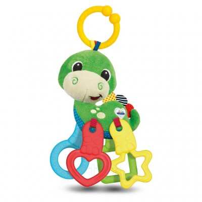 Zornaitoare dinozaur de plus, Baby Clementoni