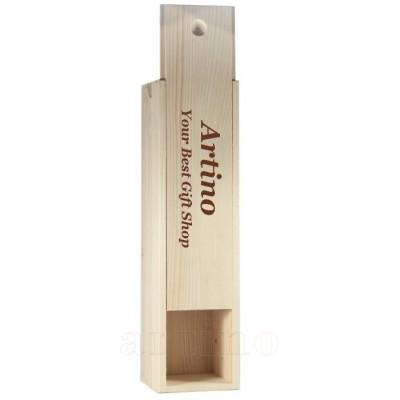 Cutie vin lemn personalizata