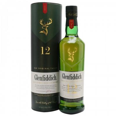 Glenfiddich 12 ani, 0.7L