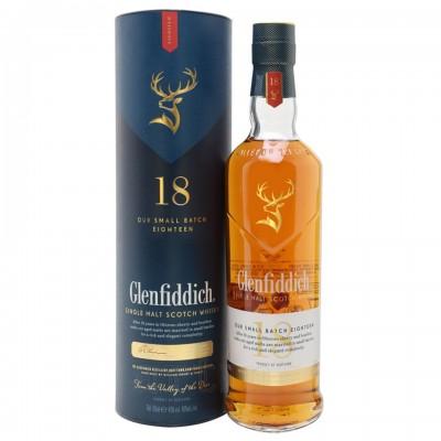 Glenfiddich 18 ani, 0.7L