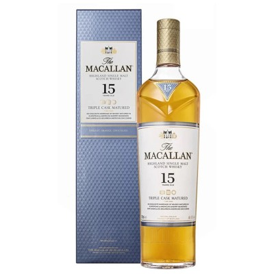 Macallan 15 ani Triple Cask