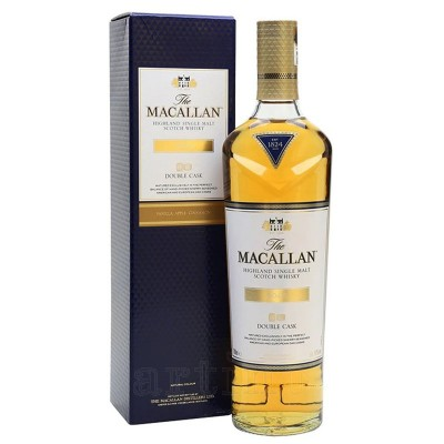 Macallan Gold Double Cask + cutie