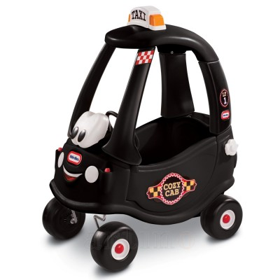 Masinuta Neagra Taxi Cozy Coupe, Little Tikes