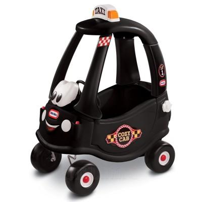 Masinuta Neagra Taxi Cozy Coupe, Little Tikes