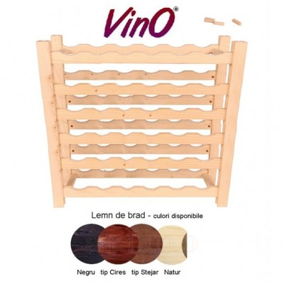 Raft lemn 36 sticle (6x6), VinO