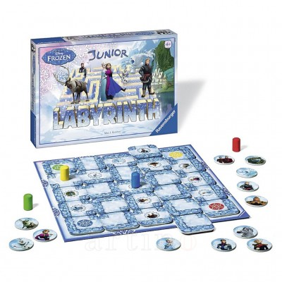 Joc Labirint Disney Frozen, Ravensburger