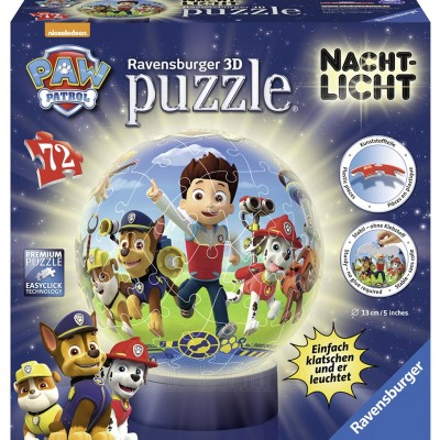 Puzzle 3D Paw, 72 Piese, Ravensburger