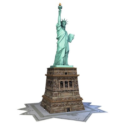 Puzzle 3D Statuia Libertatii 108 Piese, Ravensburger