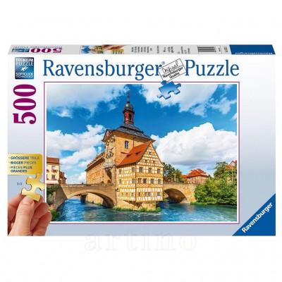 Puzzle Bamberg, Bavaria, 500 Piese, Ravensburger