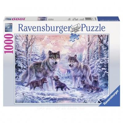 Puzzle Lupi Polari, 1000 Piese, Ravensburger