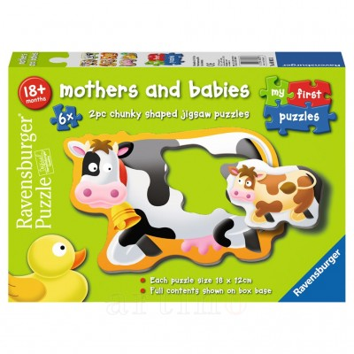 Puzzle Mame si Copilasi, 6X2 Piese, Ravensburger