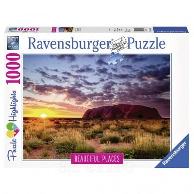 Puzzle Muntele Uluru, 1000 Piese, Ravensburger