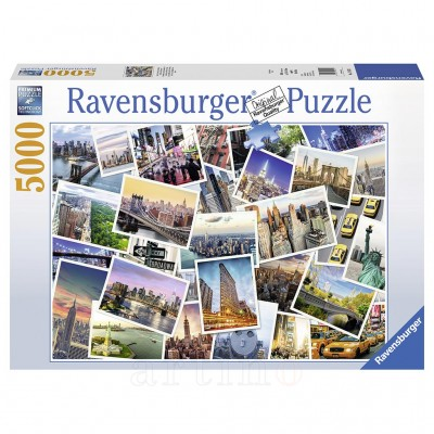 Puzzle New York City , 5000 Piese, Ravensburger