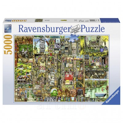 Puzzle Orasul Bizar, 5000 Piese, Ravensburger
