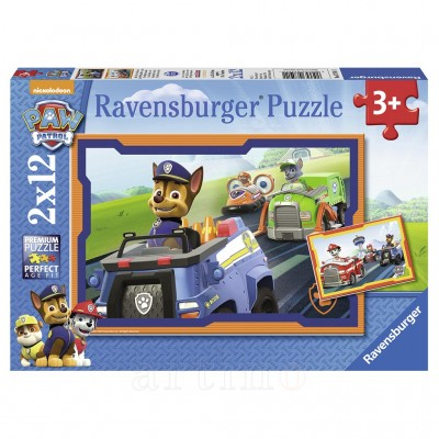 Puzzle Patrula Catelusilor in Actiune, Ravensburger