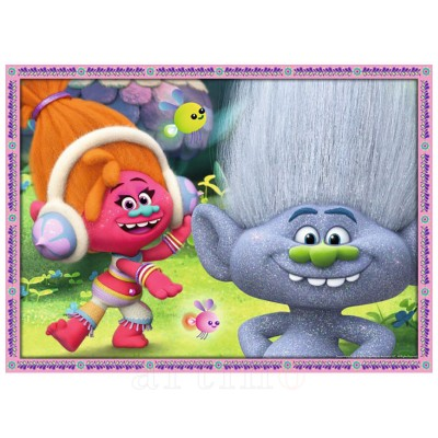 Puzzle Trolls, 4X100 Piese, Ravensburger