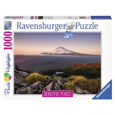 Puzzle Vulcan Oregon, 1000 Piese, Ravensburger