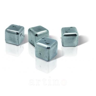 Set 4 cuburi racire, inox,