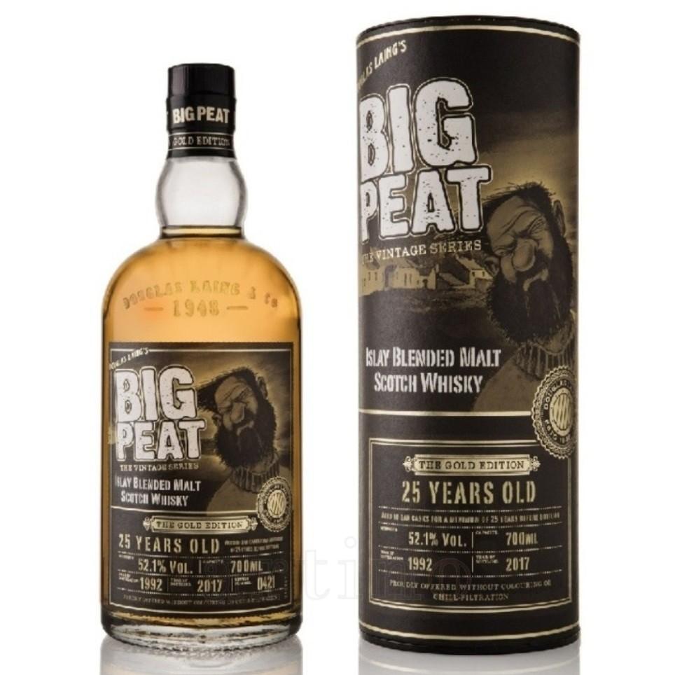 Whisky Big Peat 25 YO Gold, Douglas Laing, 0.7L