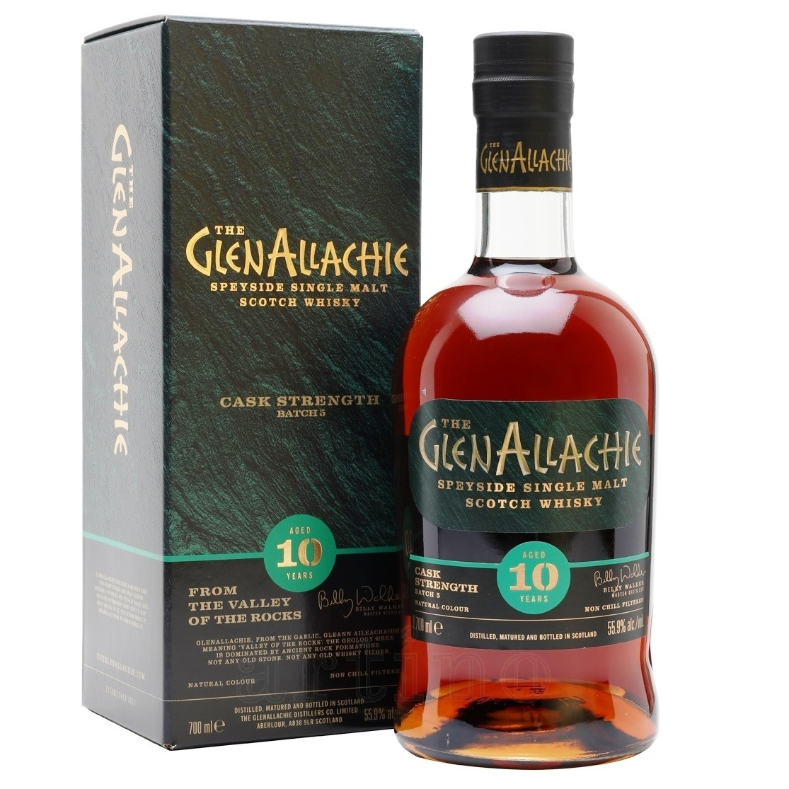 Whisky Glenallachie 10 ani Batch 6 Cask Strength