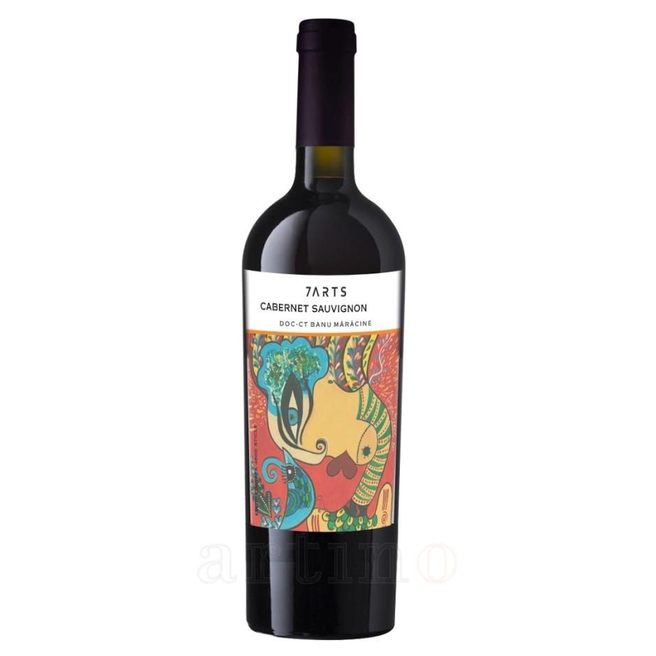 Vin 7Arts Cabernet Sauvignon Rosu