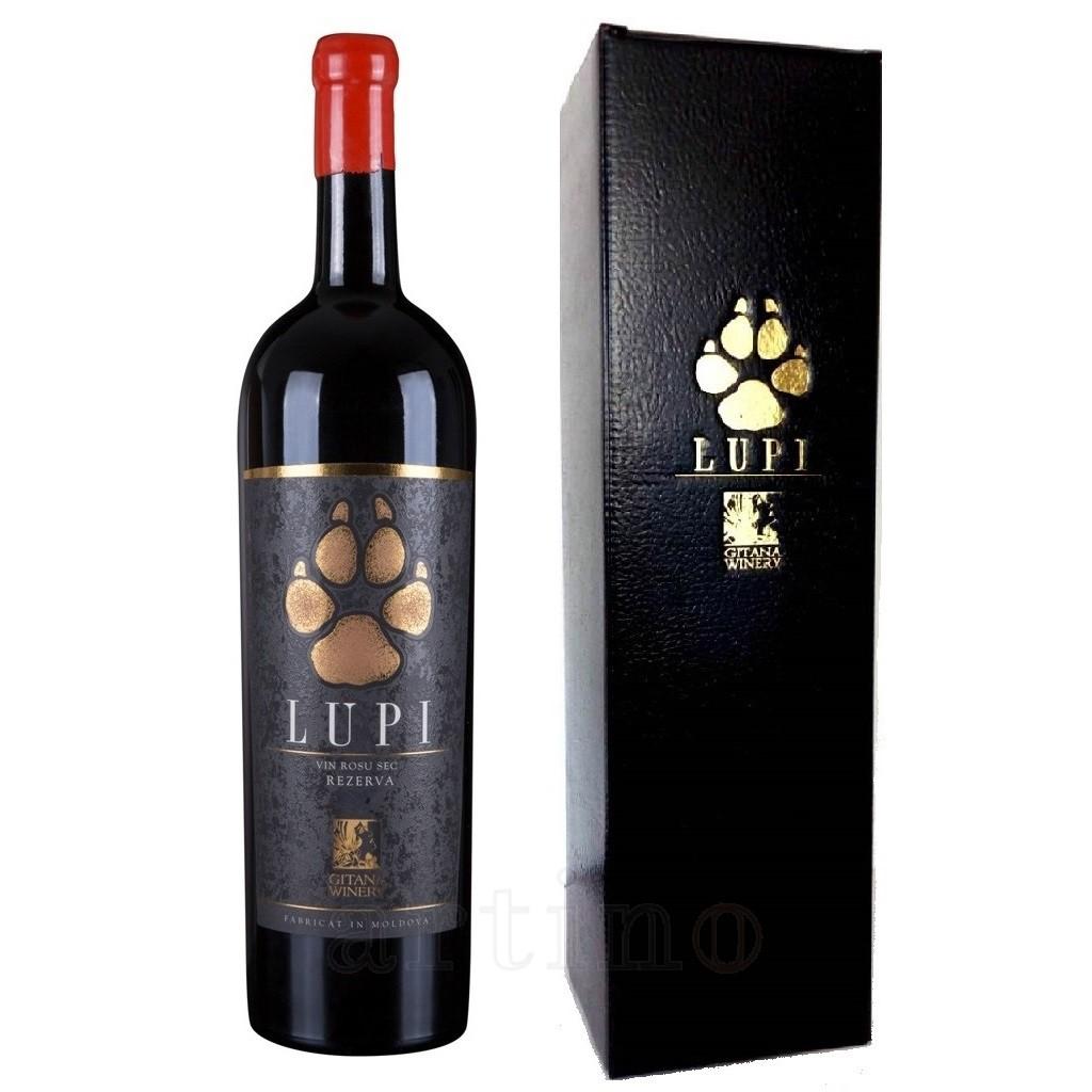 Vin Gitana Lupi Magnum Rezerva + Gift Box - 1,5L