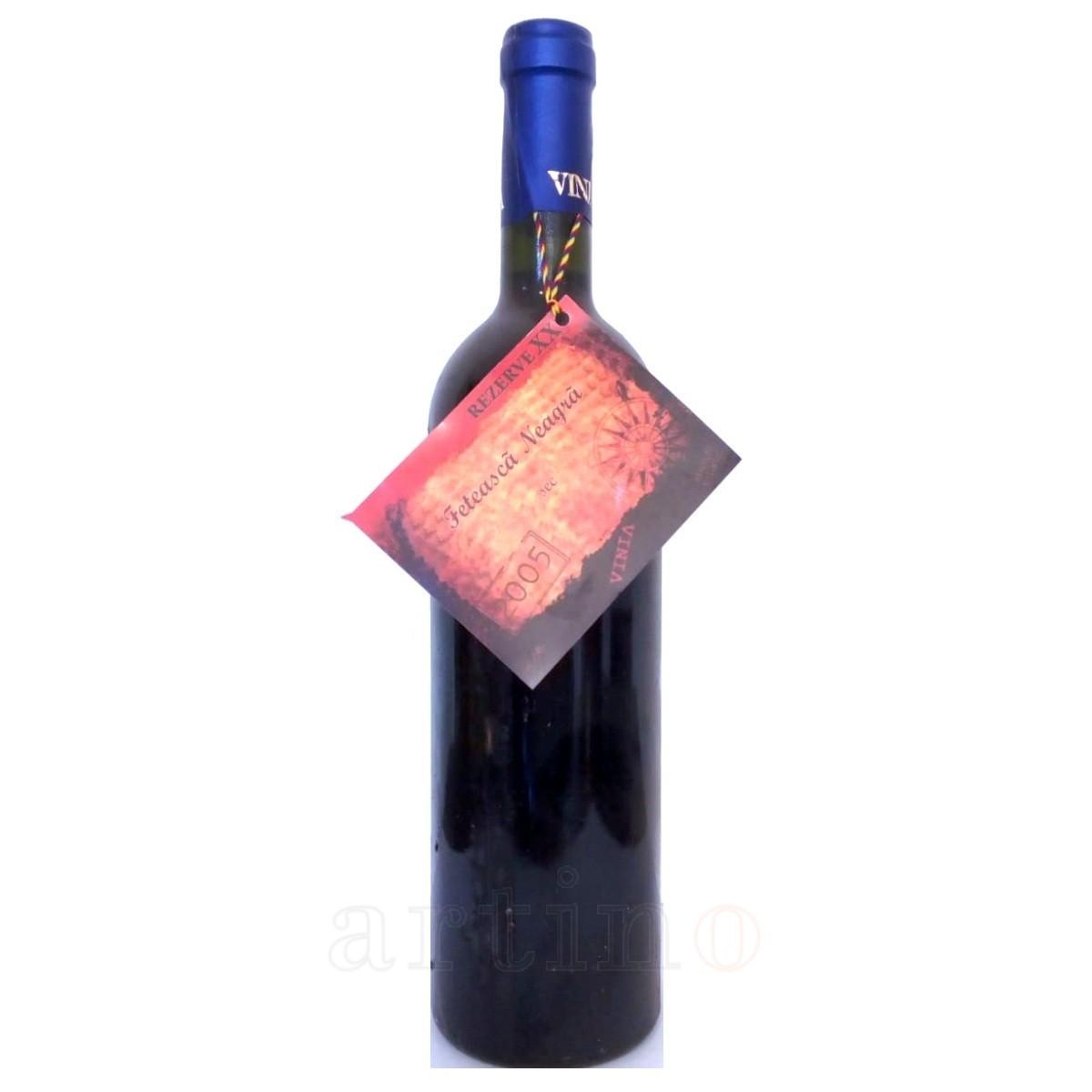 Vin colectie 2005 Feteasca Neagra Uricani