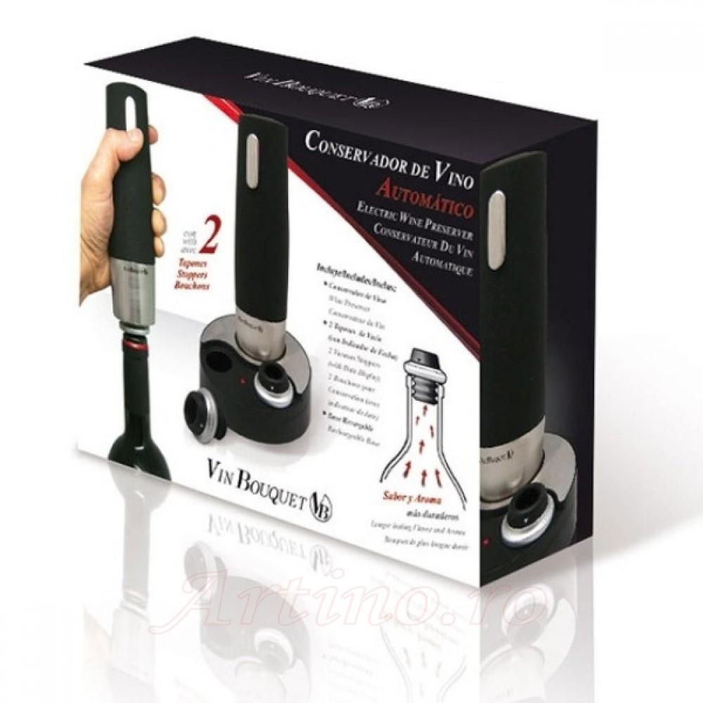Pompa vacuum electrica, Vin Bouquet 3