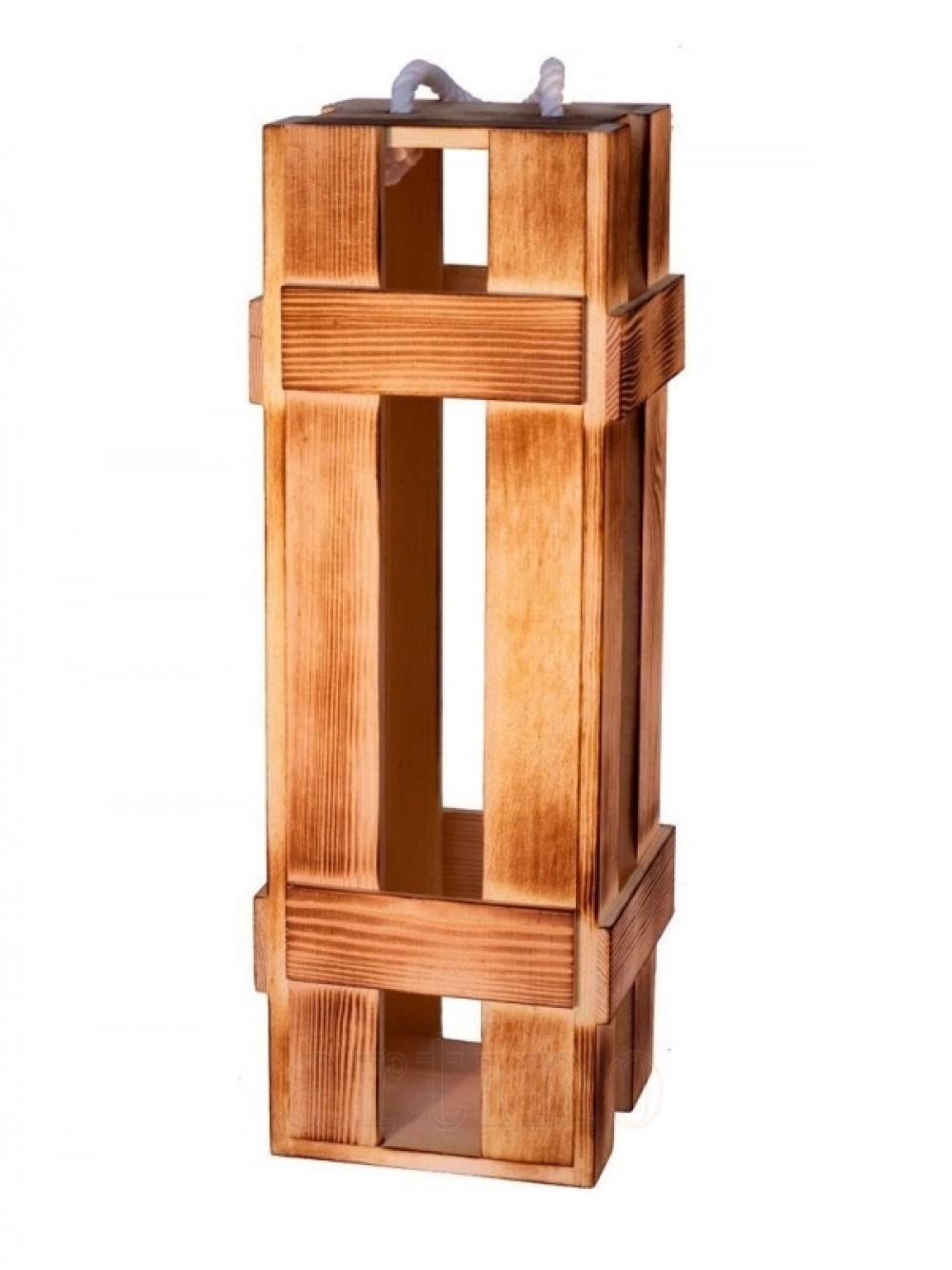 Cutie vin lemn fence