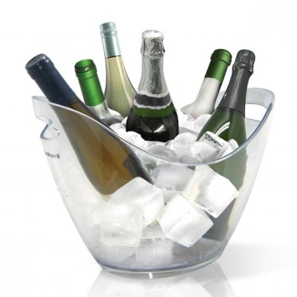 Frapiera transparenta 6 sticle vin sampanie