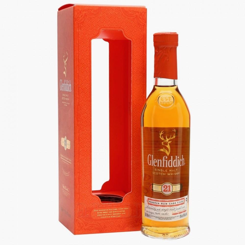 Glenfiddich 21 ani, 0.7L