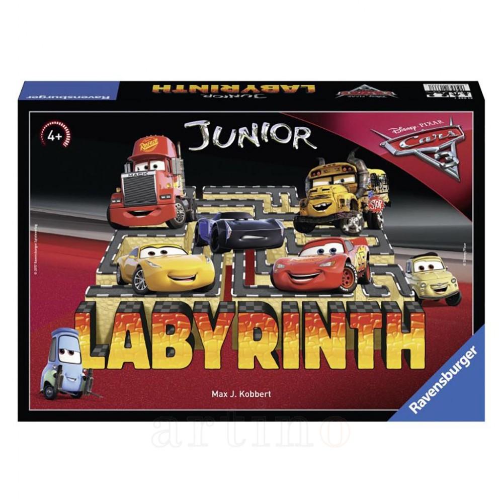 Joc Labirint Junior, Cars (Ro), Ravensburger
