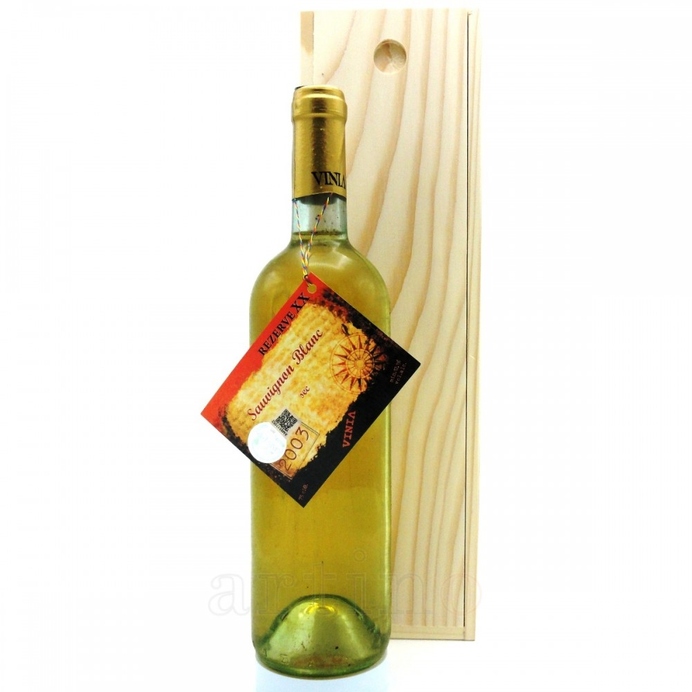 Vin colectie 2003 Sauvignon Blanc cutie lemn