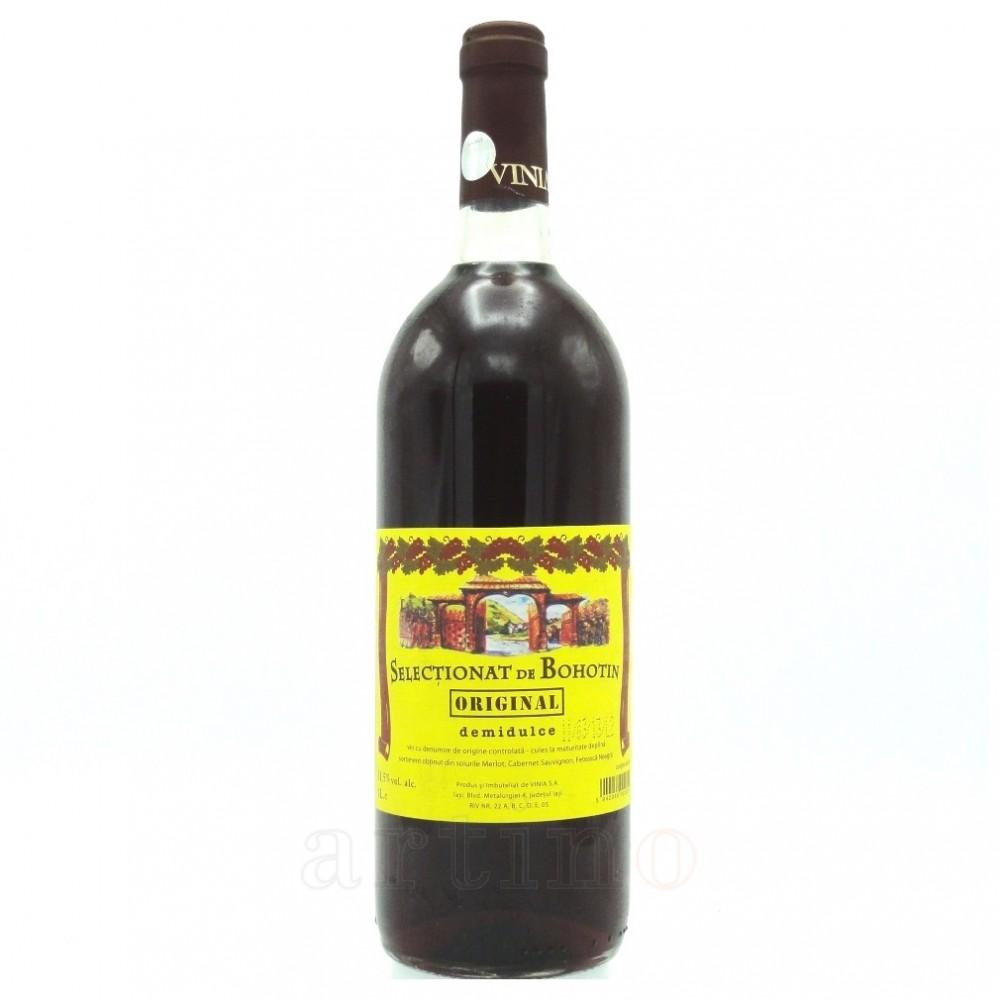 Vin colectie 2013 Selctionat Bohotin, 1 Litru
