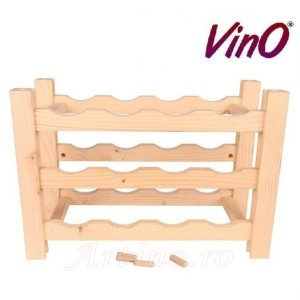 Raft lemn 12 sticle - Vino 2