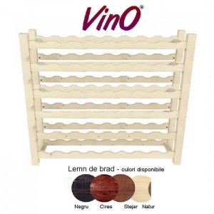Raft lemn 48 sticle (6x8), VinO
